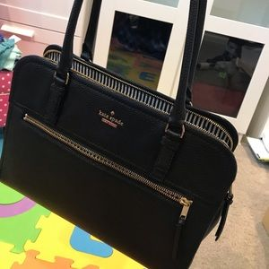 Return to Office: Kate Spade Leather Tote